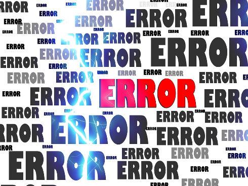 Many computer errors